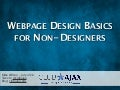 Webpage Design Basics for Non-Designers