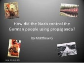How did the Nazis control the germa...