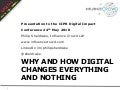 How digital changes everything and nothing
