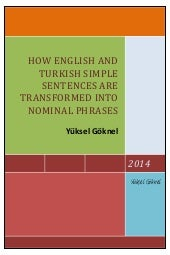 How english and turkish simple sent...