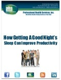 How Getting A Good Night's Sleep Can Improve Productivity