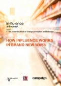 How Influence Works in Brand New Ways - Conversation2Commerce