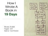 How I Wrote A Book In 19 Days