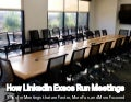 How LinkedIn Execs Run Meetings