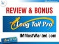 Long Tail Pro Review & Bonus
