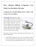 How medical billing_companies_can_help_you_maximize_revenue