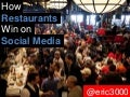 How restuarants win on social media