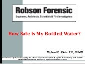 How Safe Is My Bottled Water 3.21.1...
