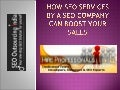 How seo services by a seo