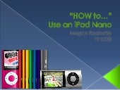 How To Use an iPod Nano