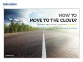 How to move to the cloud