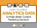 How to Apply Analytics Data to Make Better Content Decisions