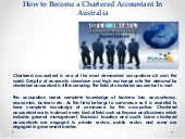 How to become a chartered accountan...