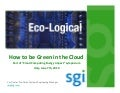 How to be green in the cloud
