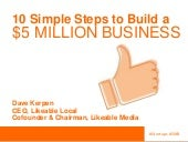 How to Build a $5 Million Business in 10 Simple Steps