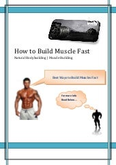 How to Build Muscle Fast | Muscle B...