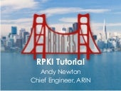 ARIN 35 Tutorial: How to certify your ARIN resources with RPKI