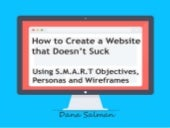 How to Create a Website That Doesn't Suck (Using S.M.A.R.T Objectives, Personas and Wireframes)