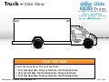 How to create make driver yellow truck power point slides and ppt diagram templates
