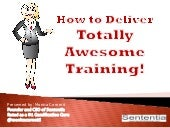 Gamification Design for Learning - Totally Awesome Training Overview