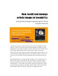 How to edit and manage article images in joomla 3   joomla 3 beginner's guide - eric tiggeler -220214