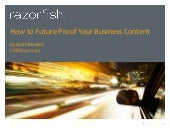 How to future proof your business c...