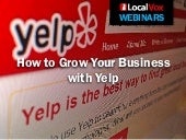 How To Grow Your Business With Yelp...