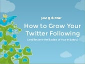 How to Grow Your Twitter Following (and Become the Badass of Your Industry)