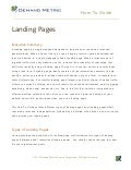 How-To Guide Landing Pages