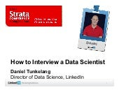 How to Interview a Data Scientist