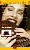 How to make chocolate recipe