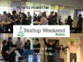 How to make the most of startup weekend