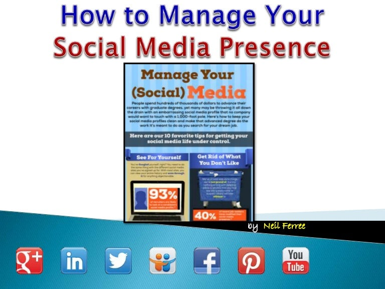 How to Manage your Social Media Presence
