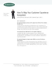 How to map your customer Experience Ecosystem