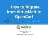 How to Migrate from VirtueMart to O...