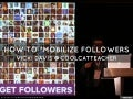 How to mobilize followers