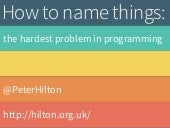The Toughest Problem in Programming
