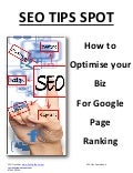 How To Optimise Your Biz Using Keywords