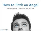 How To Pitch An Angel