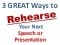 How to practice your speech presentation
