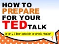 How to prepare for your TED Talk | TED Talk Preparation Principles