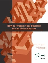 Prepare Your Business For An Active Shooter