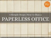 How to Run a Paperless Office | Gre...