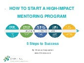 How to Start a High-Impact Mentoring Program
