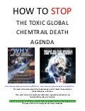 How to STOP the Toxic Global ChemTrail Agenda