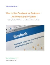 How to use facebook for business  g...