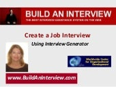 How To Use Interview Generator