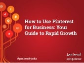 How to Use Pinterest for Business:  Your Guide to Rapid Growth
