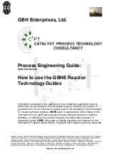How to use the GBHE Reactor Technol...