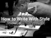 How to Write With Style